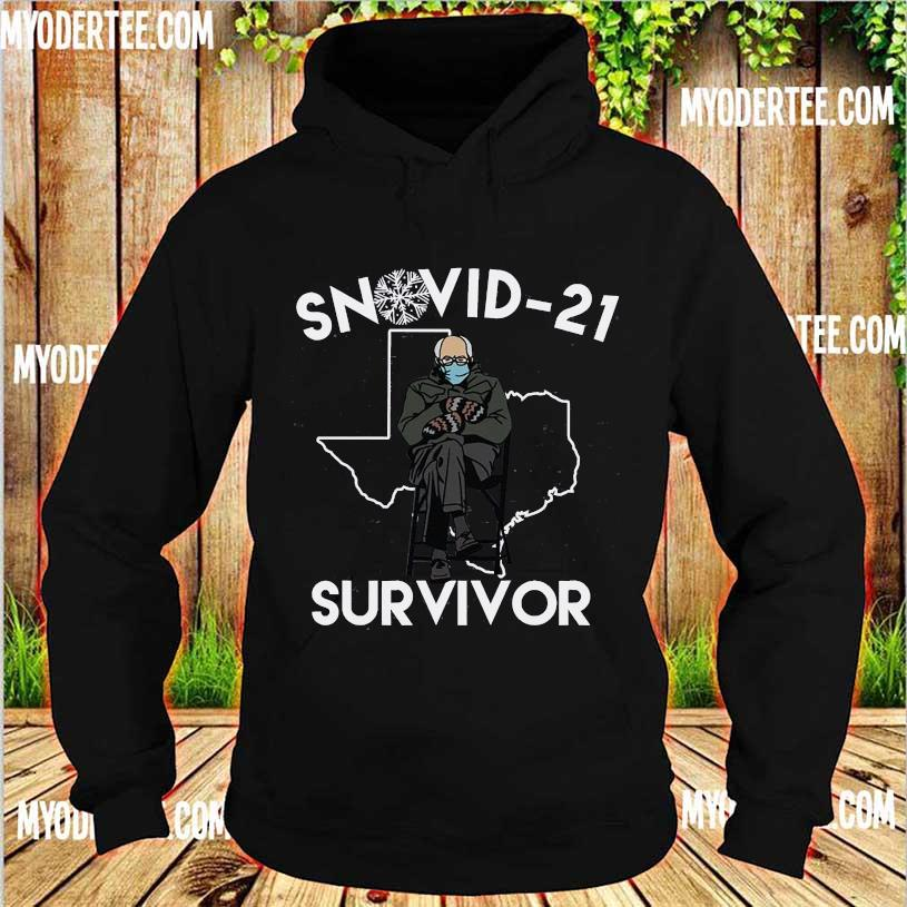 Bernie Sanders mittens Snovid-21 survivor s hoodie