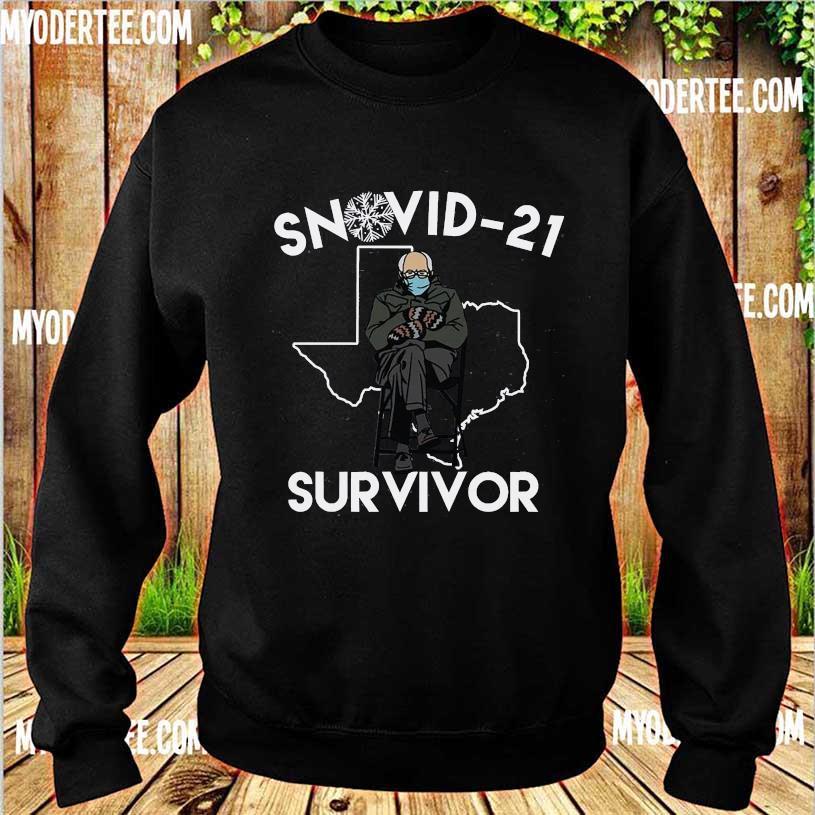 Bernie Sanders mittens Snovid-21 survivor s sweater