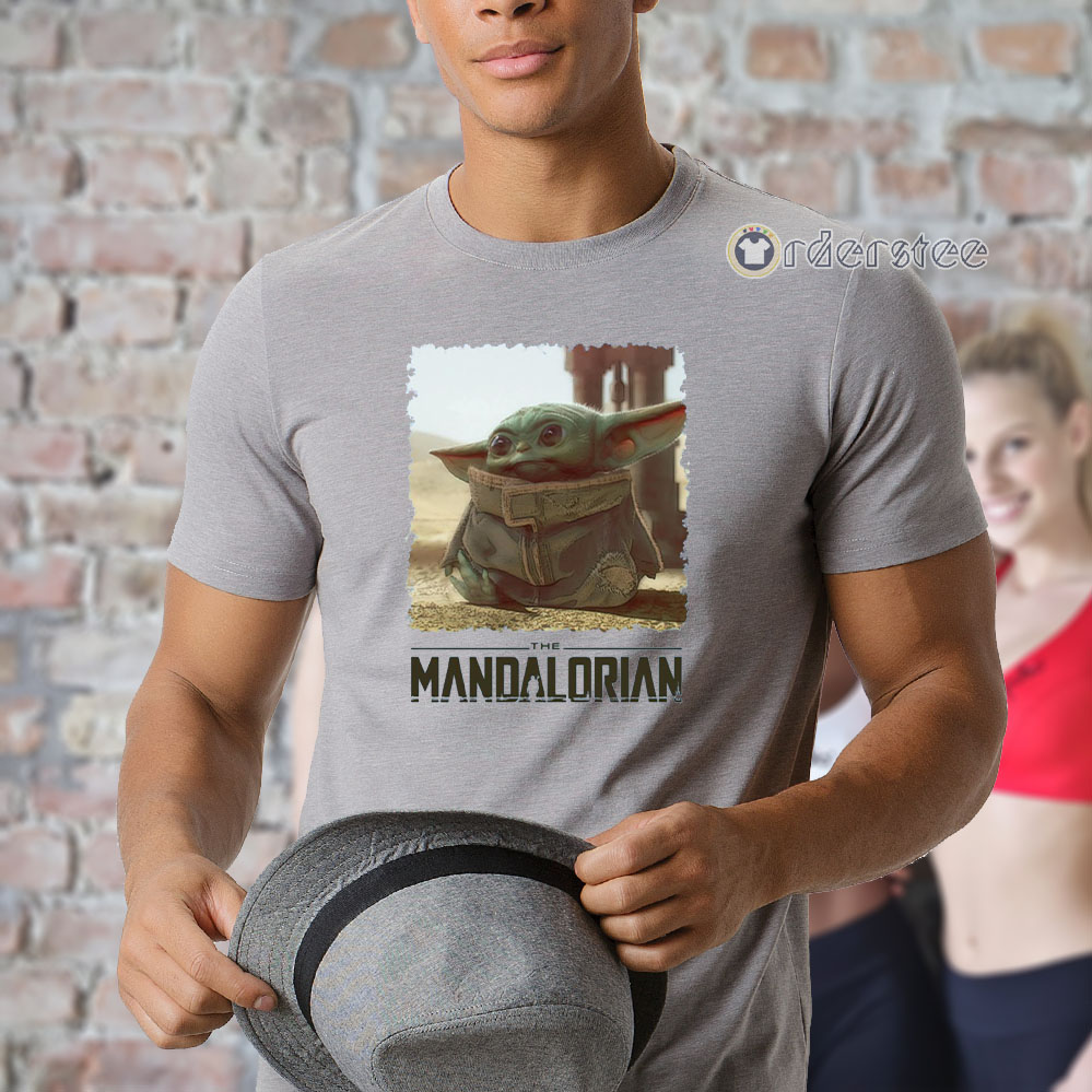 Baby Yoda Mandalorian The Child T-Shirt