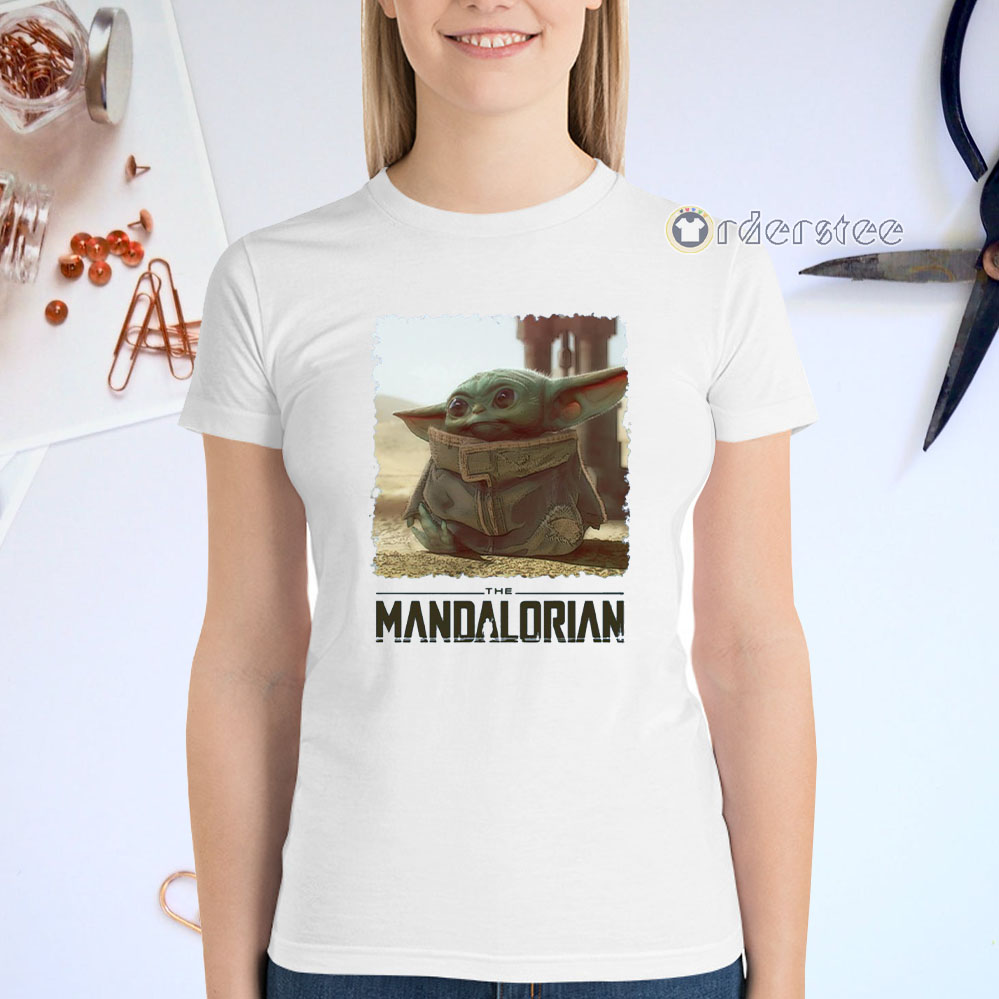 Baby Yoda Mandalorian The Child T-Shirts