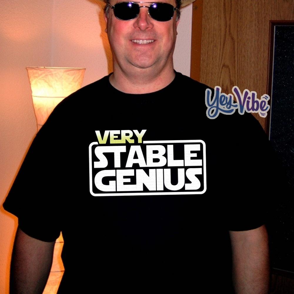 Buy Will Ferrell Very Stable Genius T Shirts