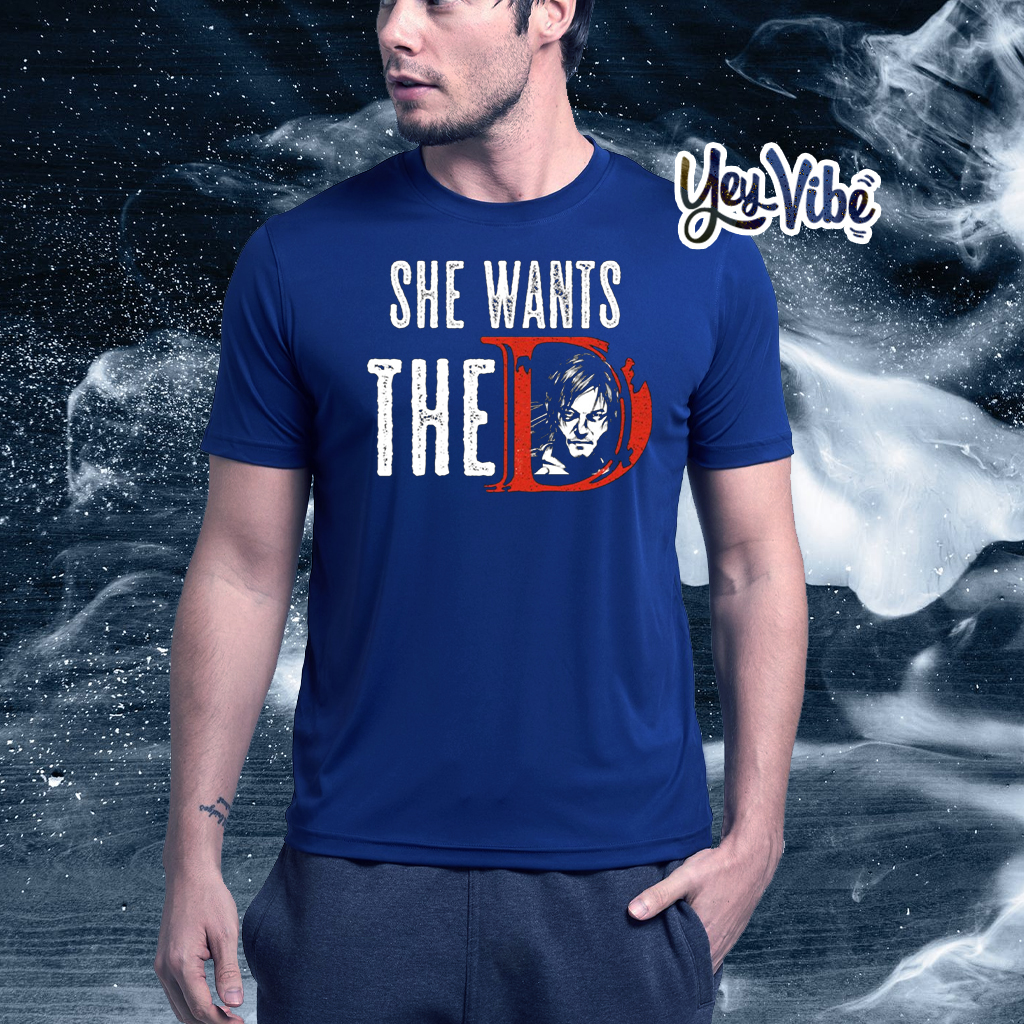 daryl dixon she want the D t shirt