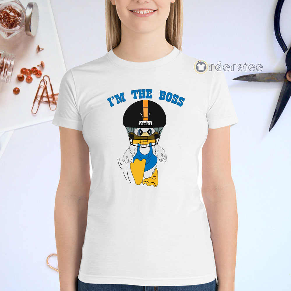 Duck Hodges I'm The Boss t-shirts
