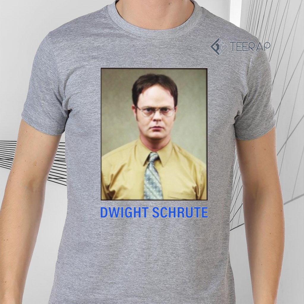 Dwight Schute Shirts - Determined Worker Intense Good Worker Hard Worke