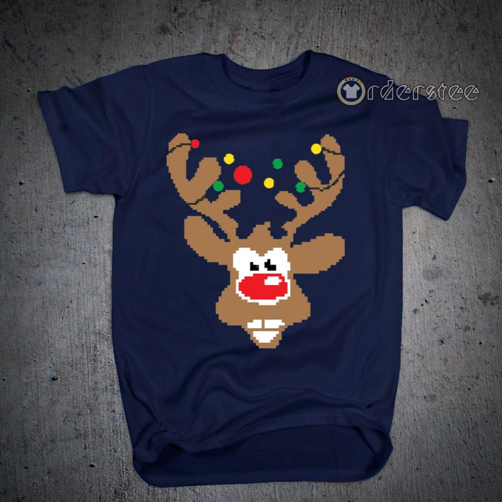Funny Christmas Youth Kids Cute Ugly Christmas T-Shirts