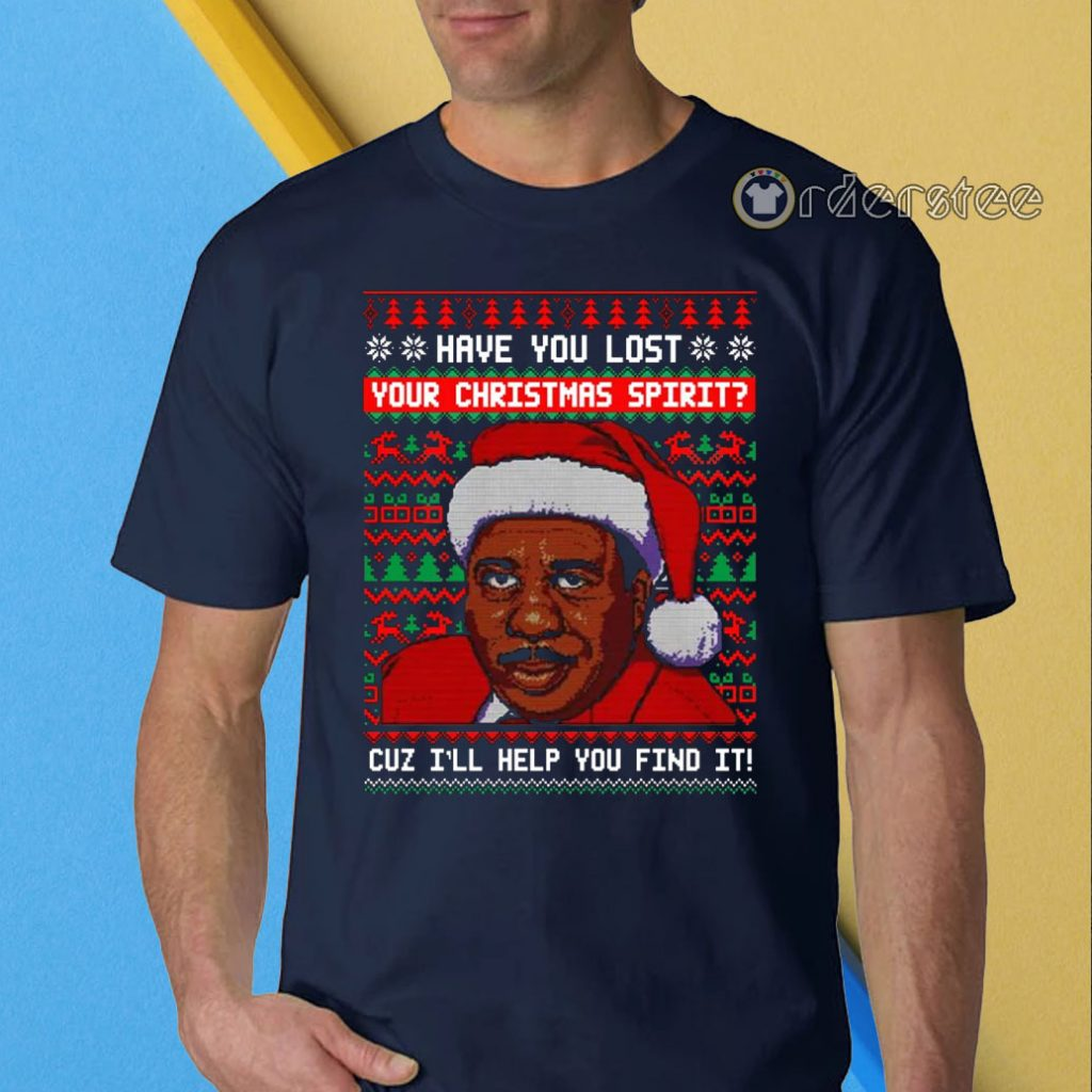 Have You Lost Your Christmas Spirit Steve Harvey t-shirt