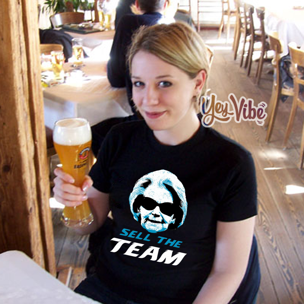Sell The Team DET Tee Shirt