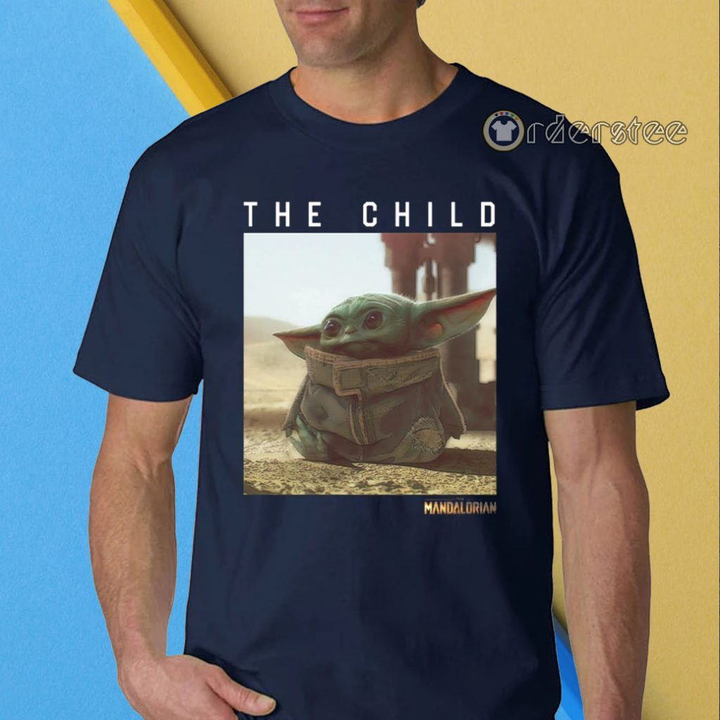 The Child Star Wars Mandalorian Baby Yoda Shirt