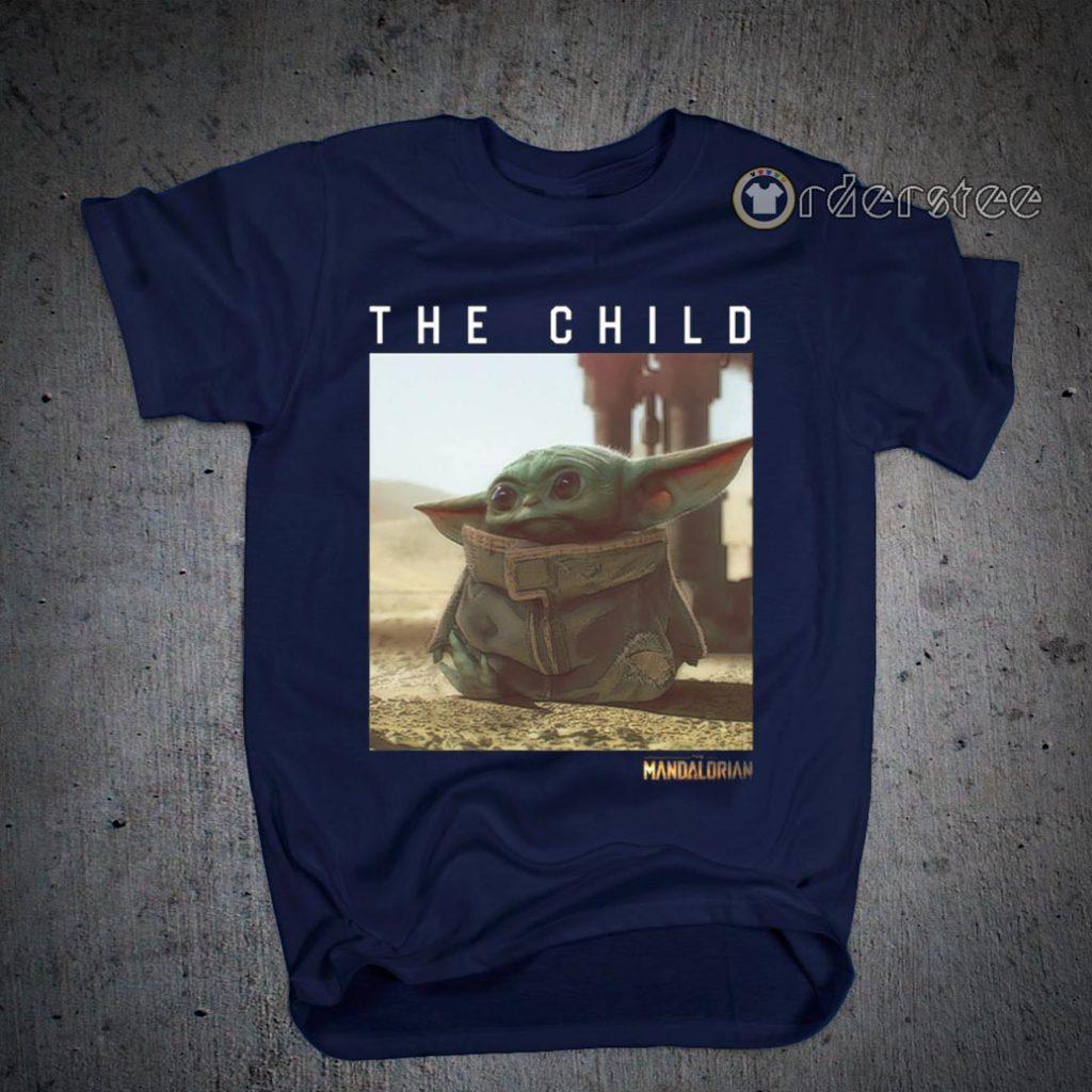 The Child Star Wars Mandalorian Baby Yoda Shirts