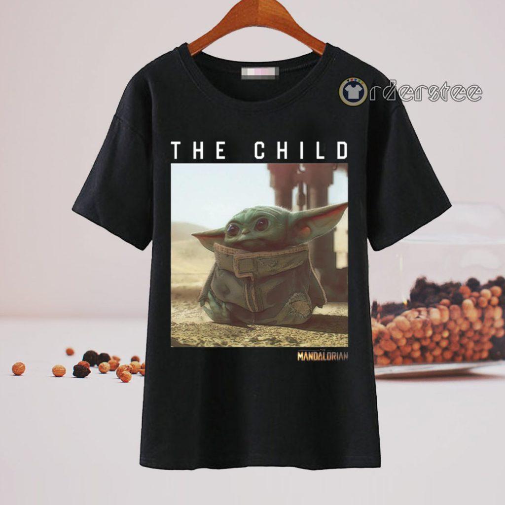 The Child Star Wars Mandalorian Baby Yoda T-Shirt