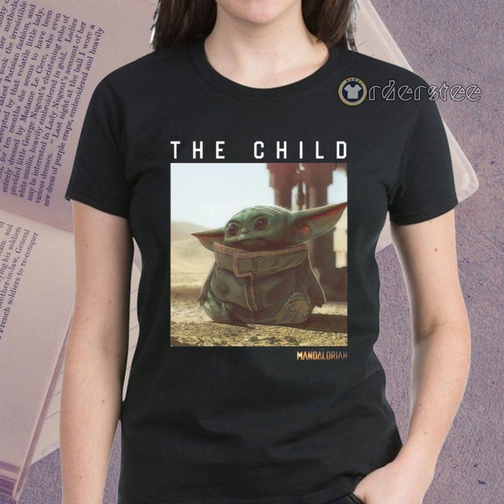 The Child Star Wars Mandalorian Baby Yoda T-Shirts