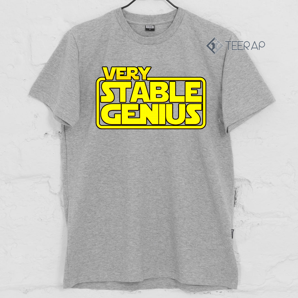 Will Ferrell Very Stable Genius Hot T Shirt