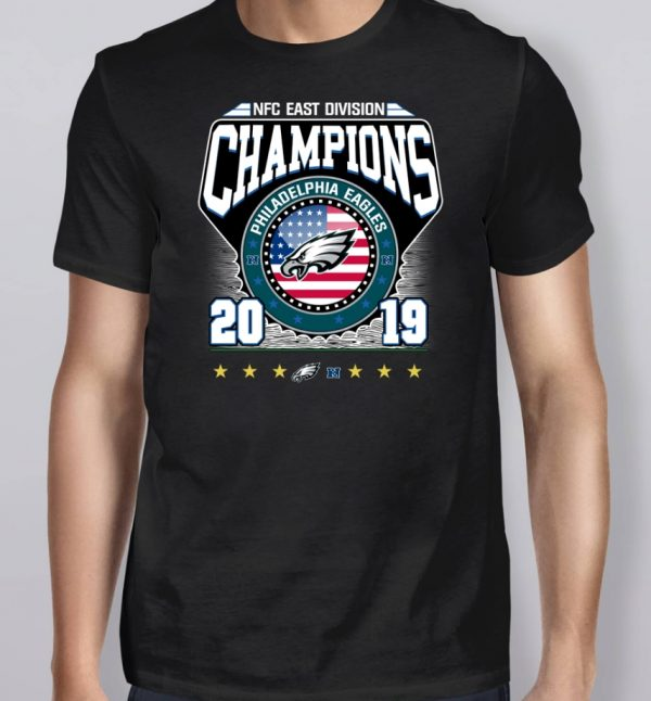 2019 East Division Champions Eagles Shirt