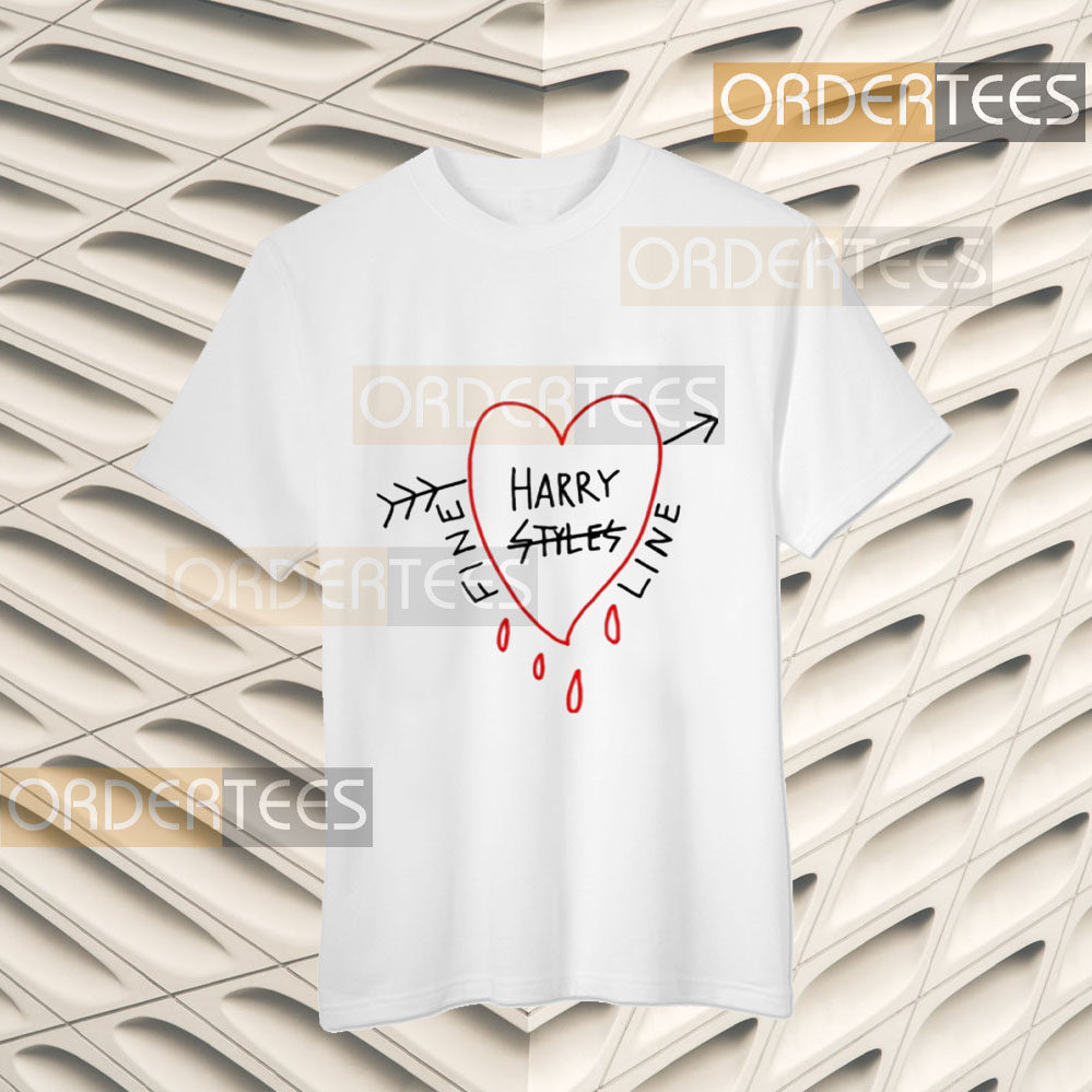 HARRY STYLES ALESSANDRO MICHELE FINE LINE T-Shirts