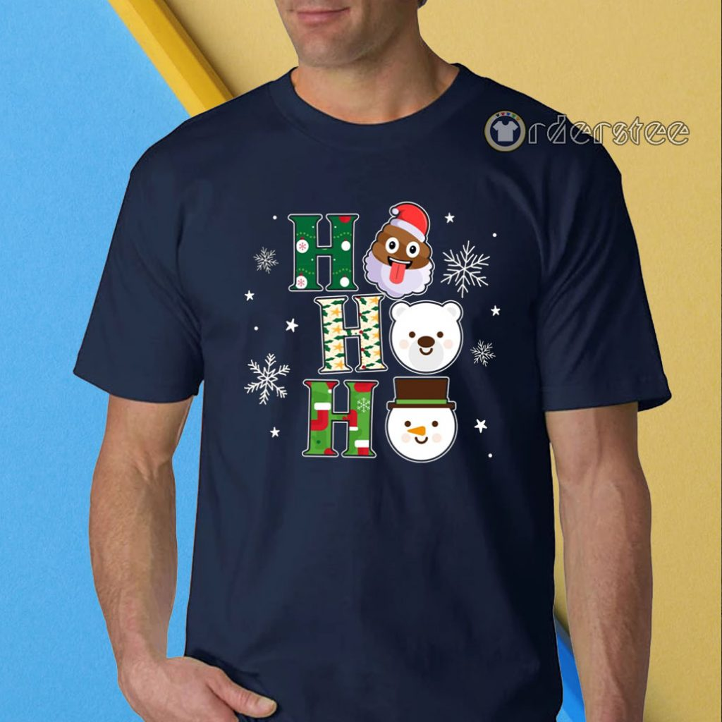 Hohoho christmas t-shirt
