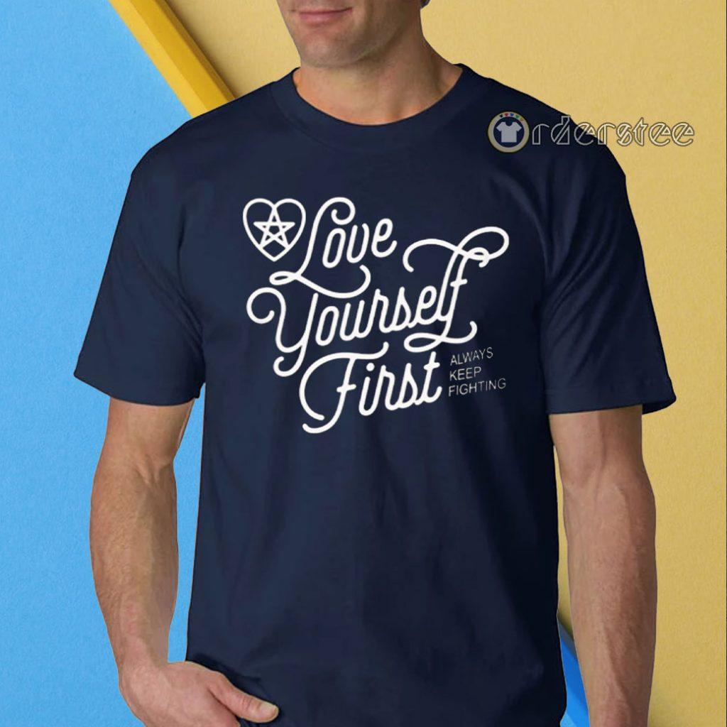 Jared Padelecki's Love Yourself First Shirt