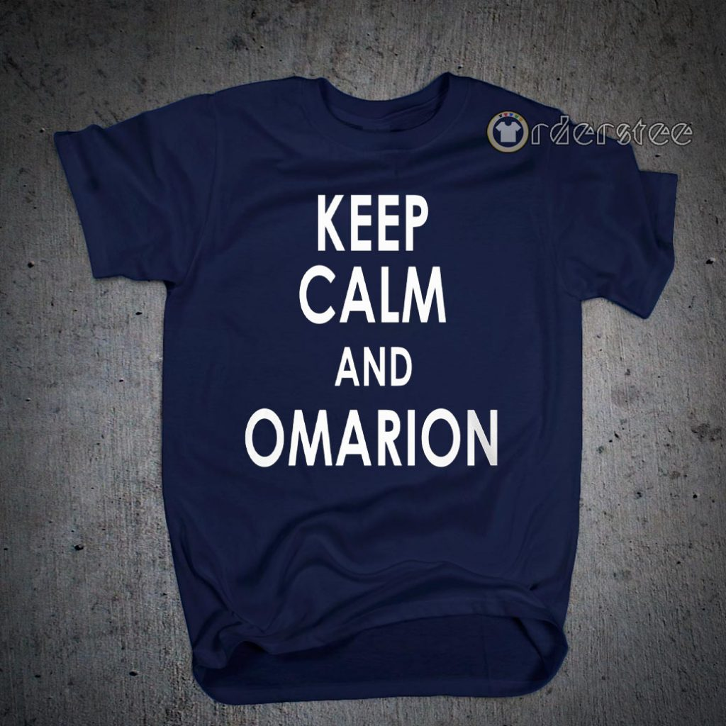 Keep Calm And Omarion T-Shirts