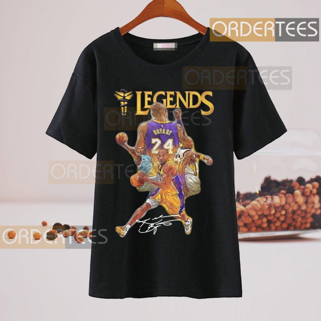 Legends Team Signatures Cup t-shirt