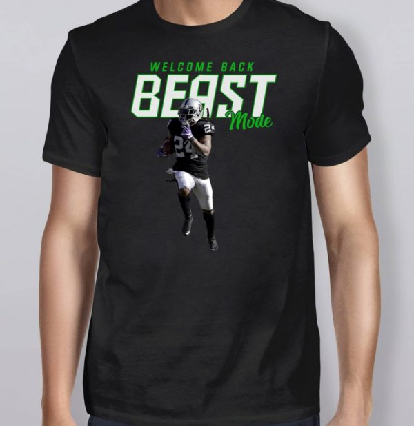 Marshawn Lynch Welcome Back Beast Mode Shirt