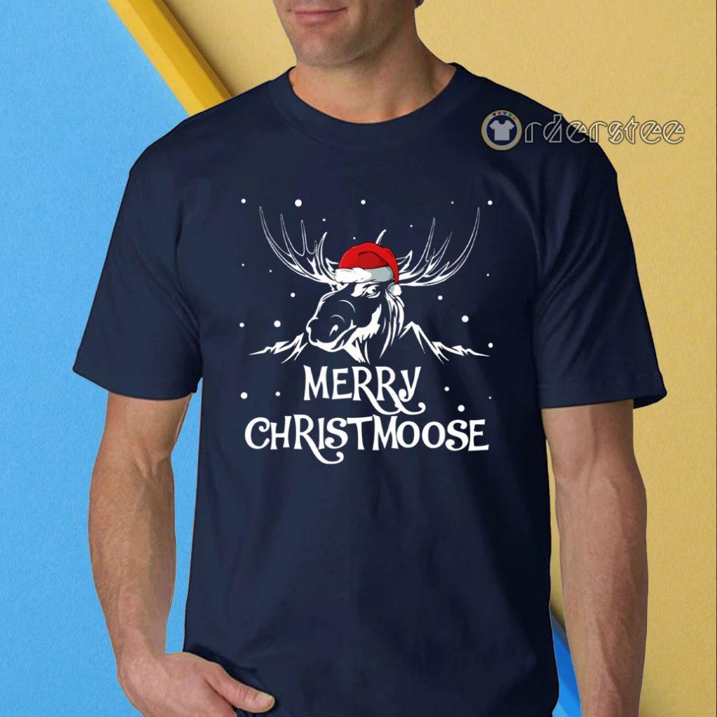 Merry christmoose christmas shirt