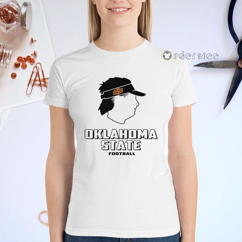 Mike Gundy Mullet T Shirts - Oklahoma State Cowboys football