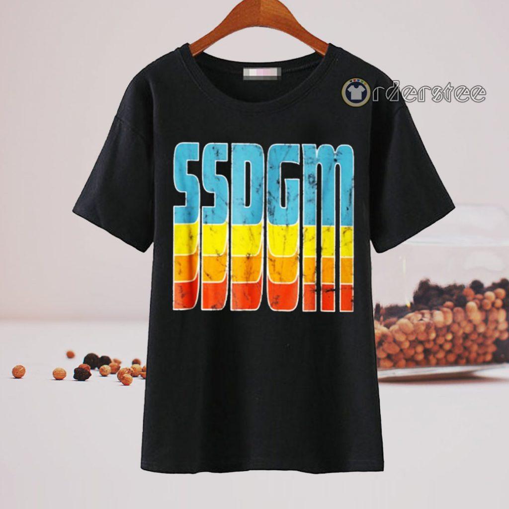 SSDGM Retro Distressed Vintage Shirt