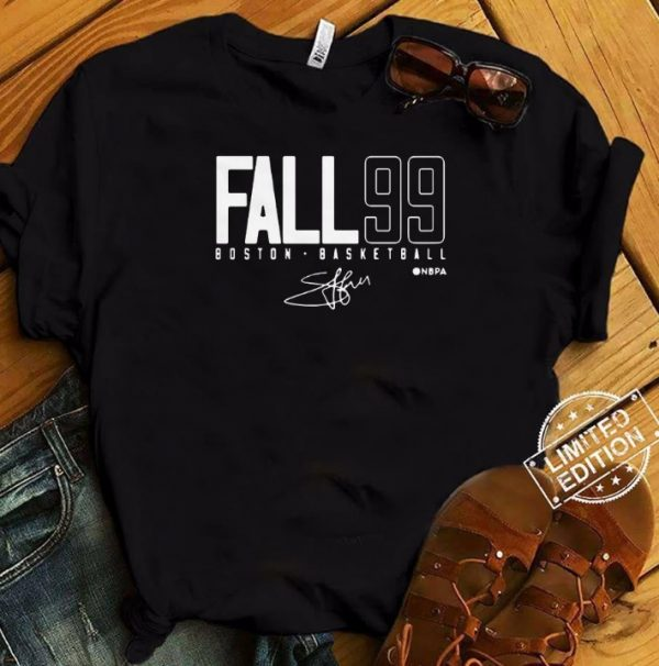 Tacko Fall 99 Boston Basketball Signature Tee Shirt