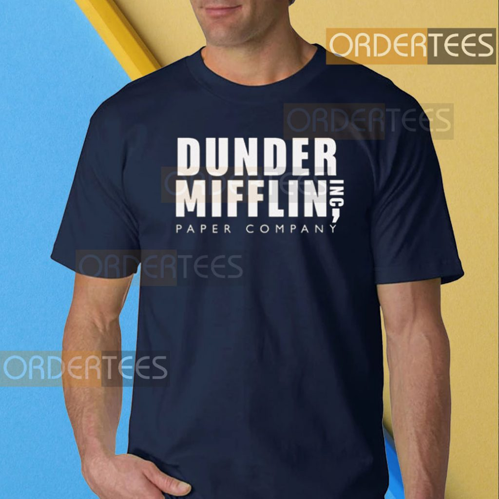 DUNDER MIFFLIN INC Paper Co Funny T-shirt The Office Hoodie Sweatshirt