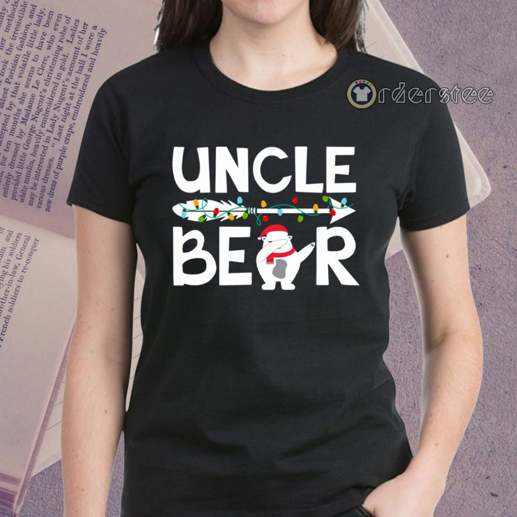 Uncle bear snowman christmas shirts