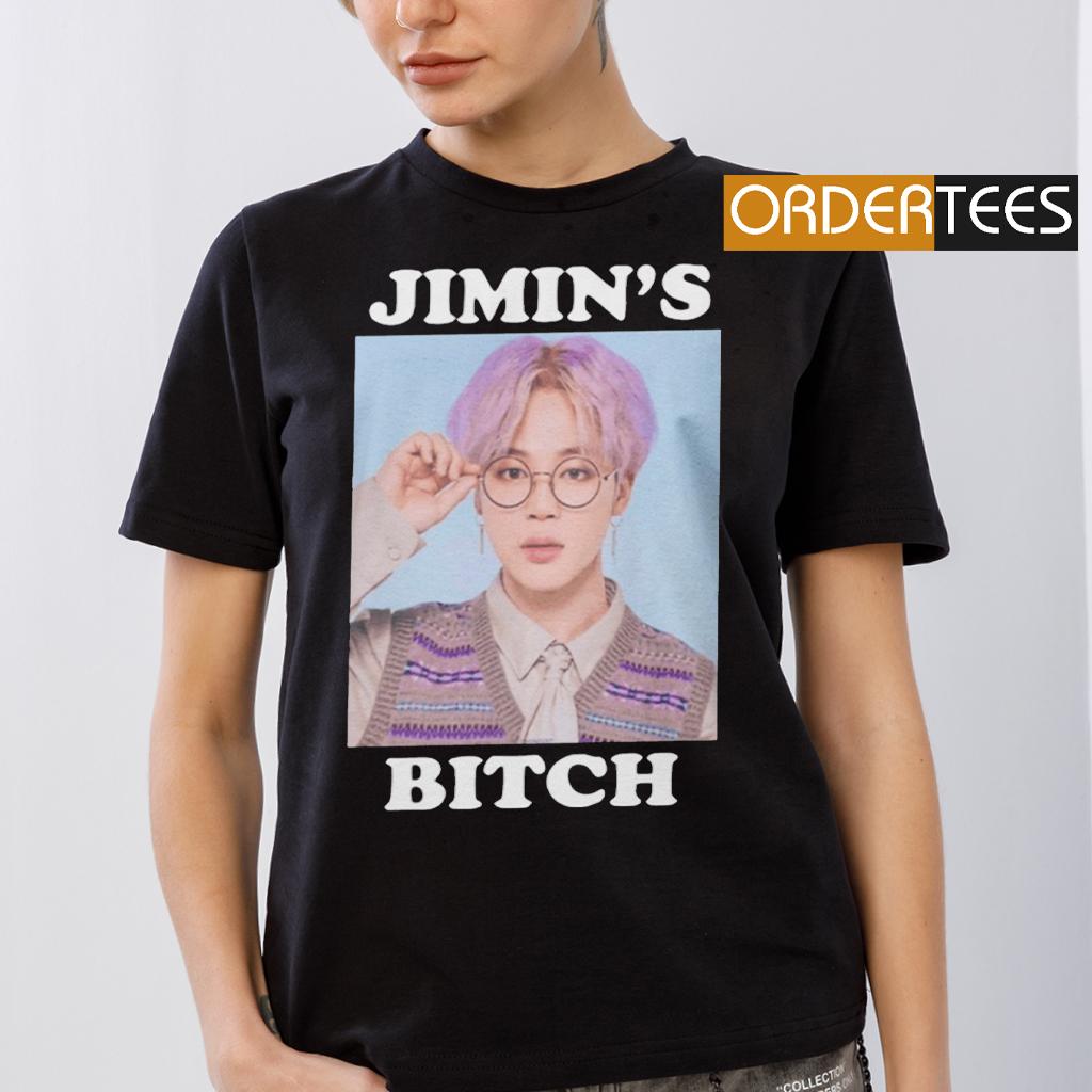 BTS Jimin's Bitch T Shirts