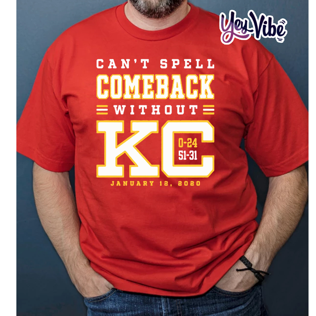 Can't Spell Comeback Without KC T Shirt