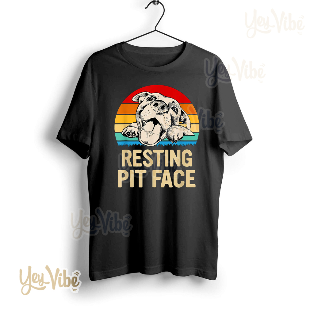 Carolina Adopt A Bulls Rescue Resting Pit Face Shirts