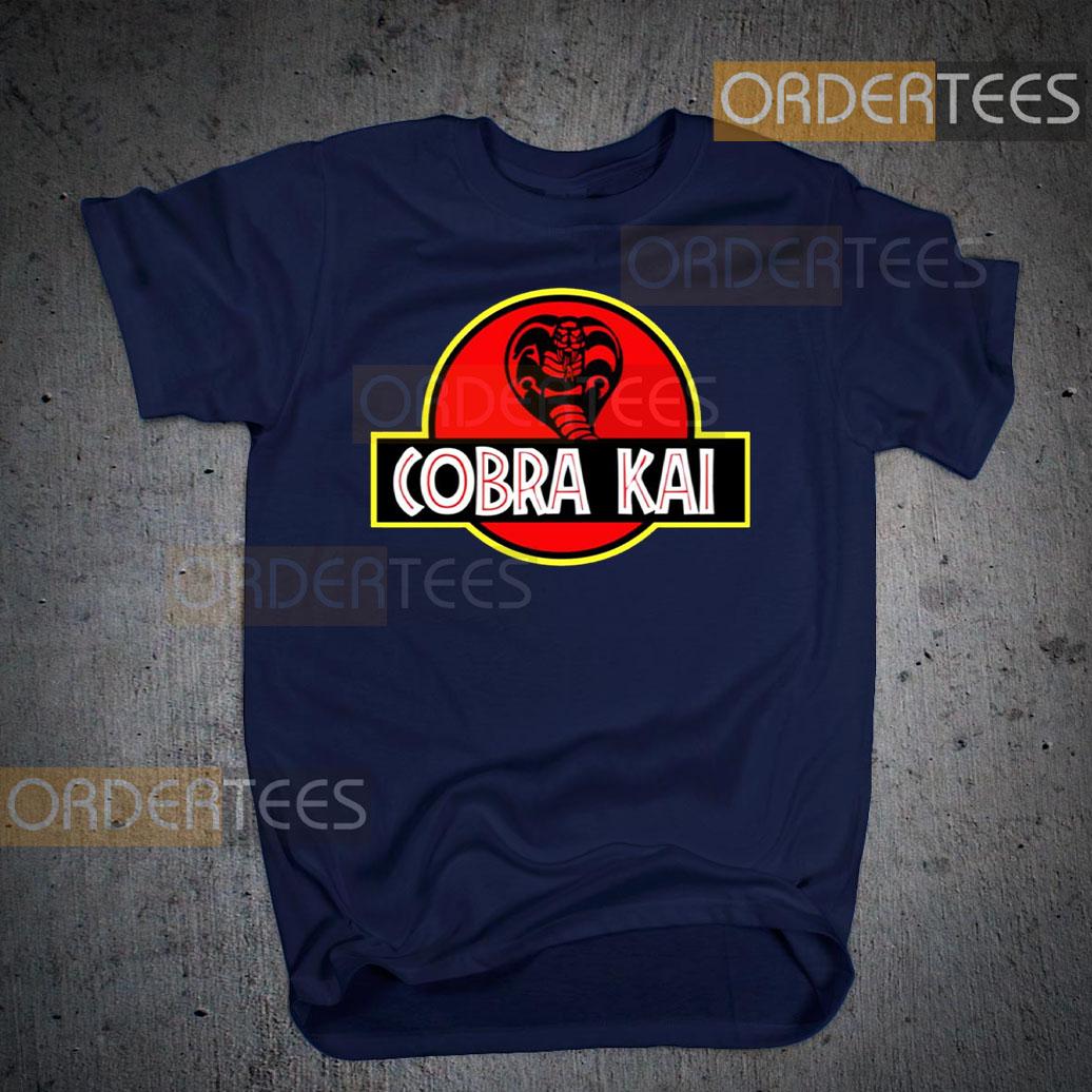 Cobra Kai Jurassic Park T-Shirts