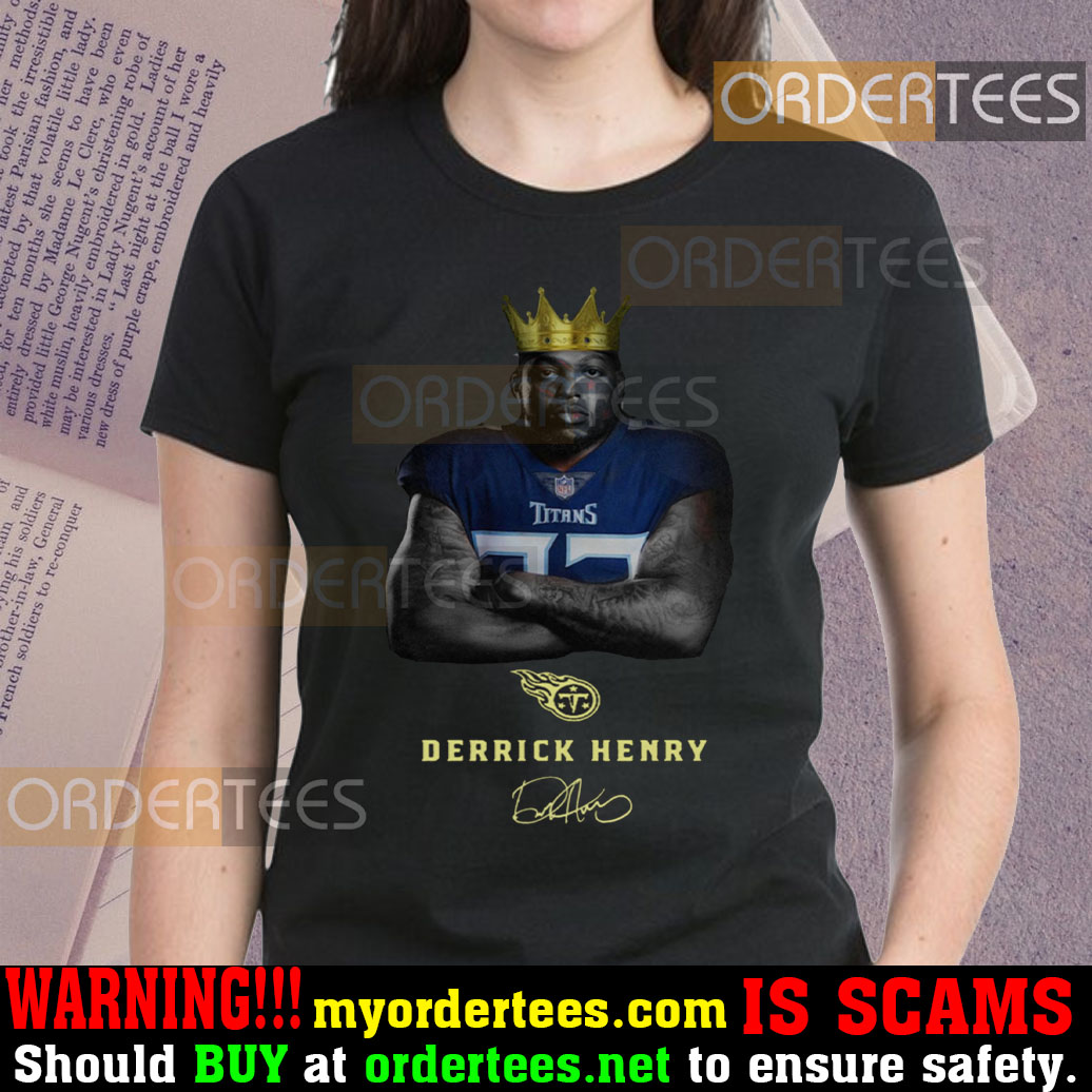 KING DERRICK HENRY T-SHIRTS