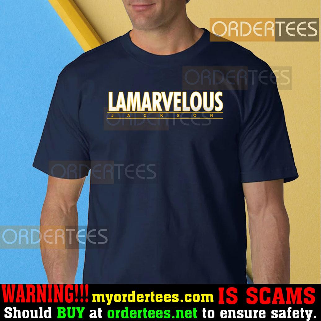Lamarvelous Lamar Jackson Shirt Action Jackson