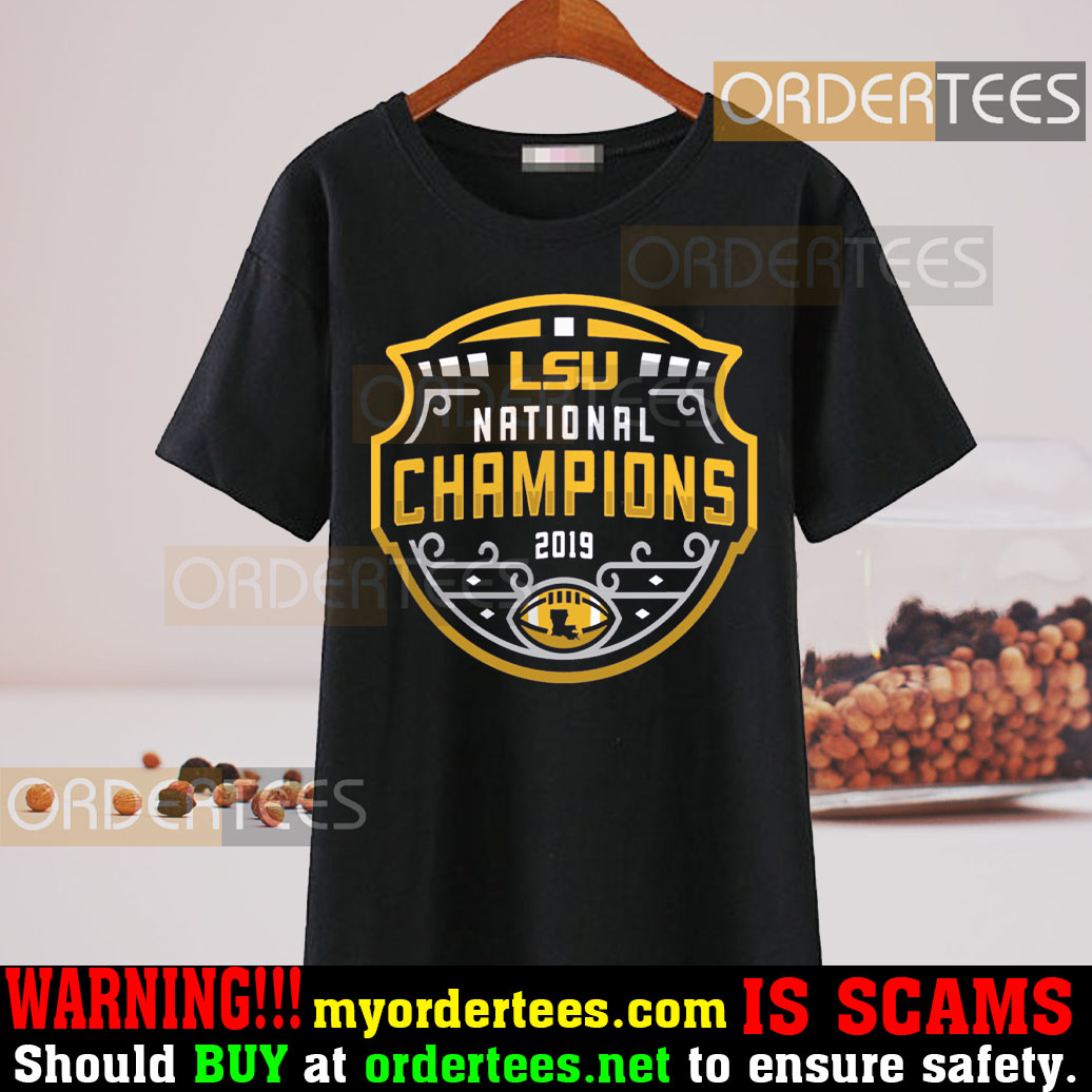 LSU Tigers Football Playoff 2019 National Champions Shirt