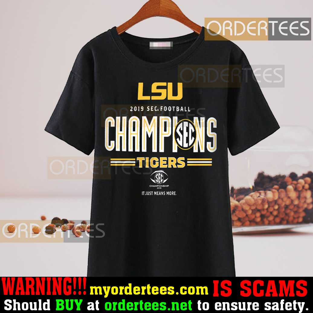 LSU Tigers National Champions 2019 T-Shirt