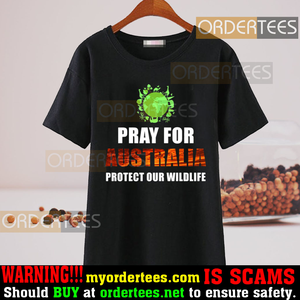 Pray For Australia Protect Our Wildlife T-Shirt