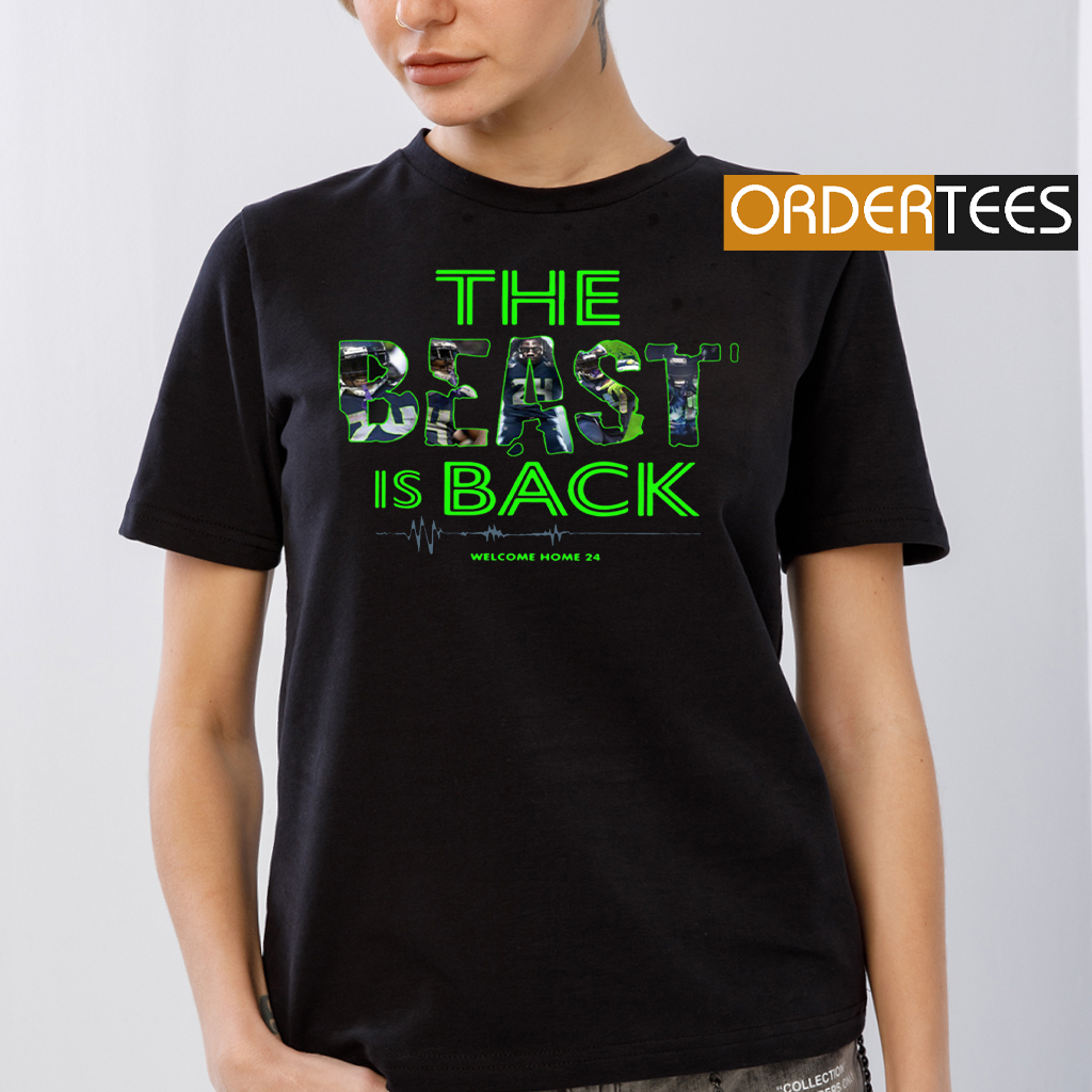 SEAHAWKS – THE BEAST IS BACK WELCOME HOME 24 T-SHIRTS