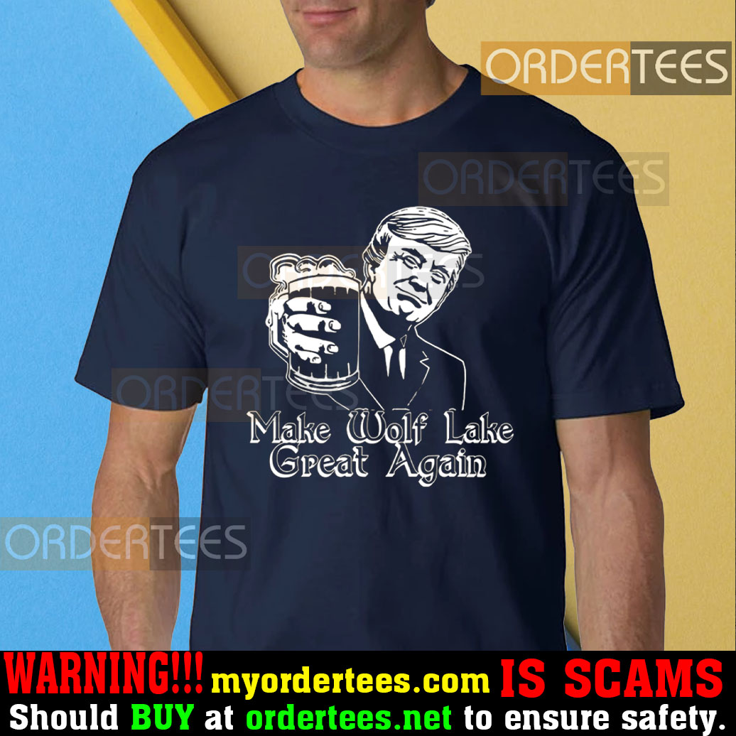 Trump Make Wolf Lake great again T-Shirt