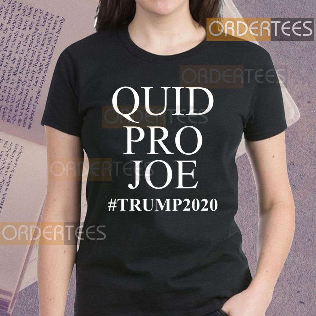 Trump Meme Sleepy Joe Biden Quid Pro Joe T-Shirts