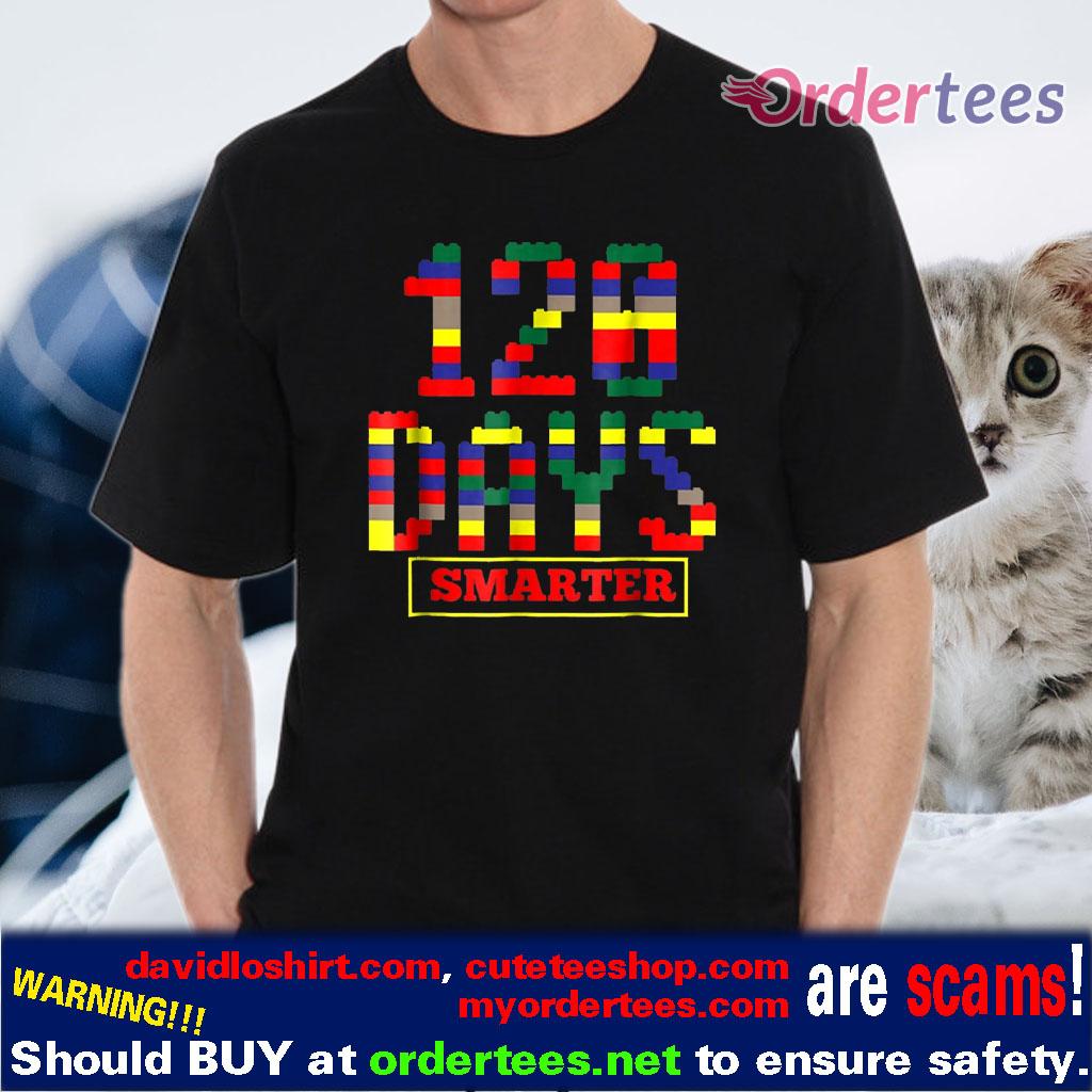 120 Days Smarter Of School shirt