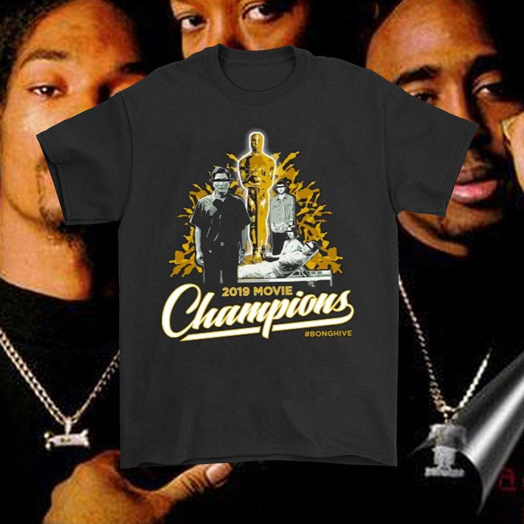 2019 Movie Champions Lights Camera Tee Shirt