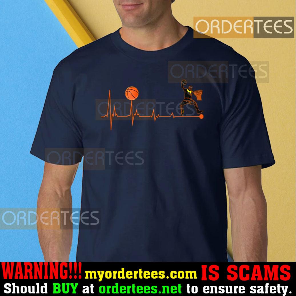 BBall Heartbeat Basketball T-Shirt