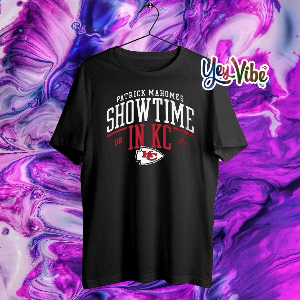 Kansas City Chiefs Patrick Mahomes Showtime in KC T-Shirts