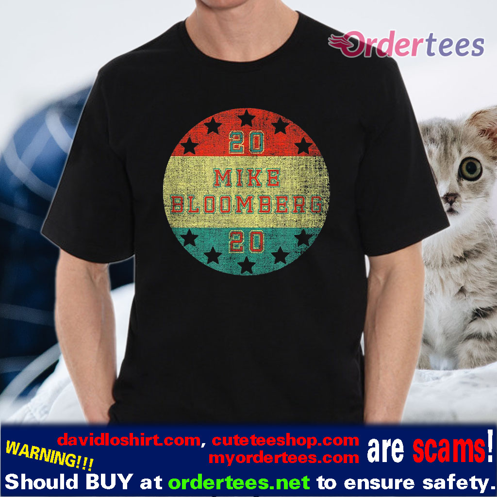 Mike Bloomberg 2020 For President Elections Vote Men Women T-Shirt