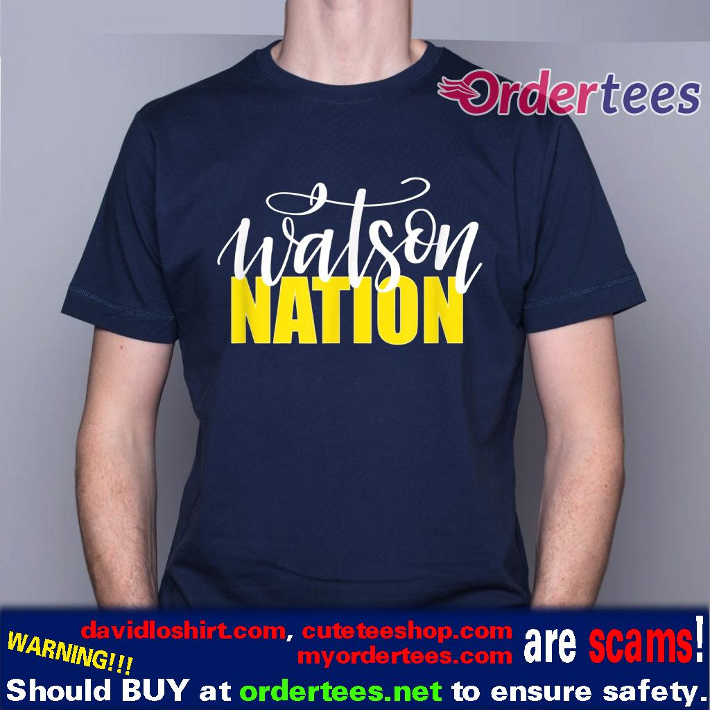 WATSON NATION Shirt the Watson Family Shirt