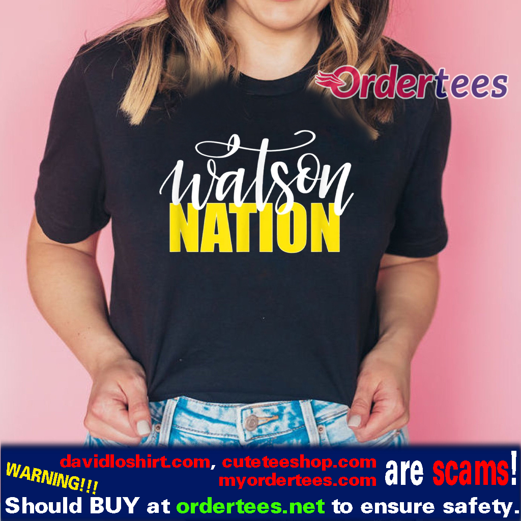 WATSON NATION Shirts the Watson Family Shirt