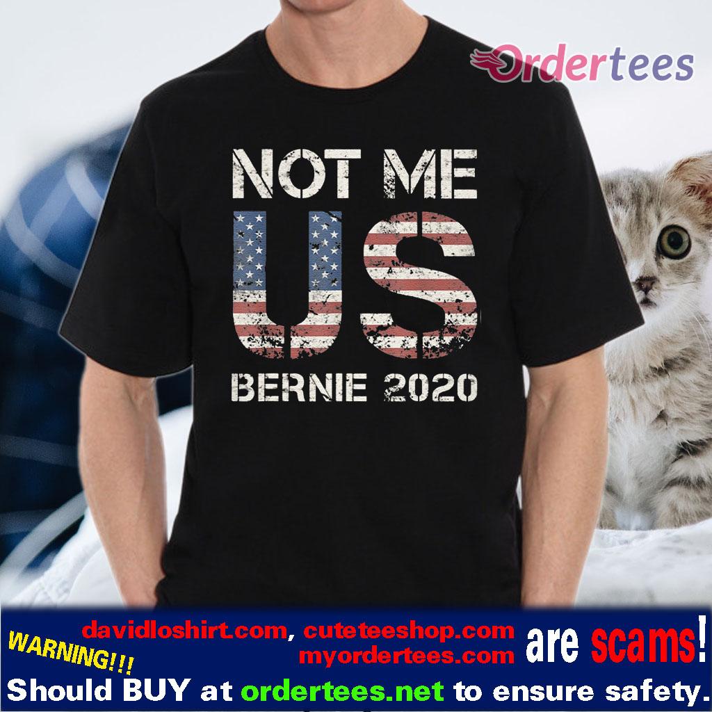 Bernie 2020 Not Me US Bernie Sanders Vintage V-Neck T-Shirt