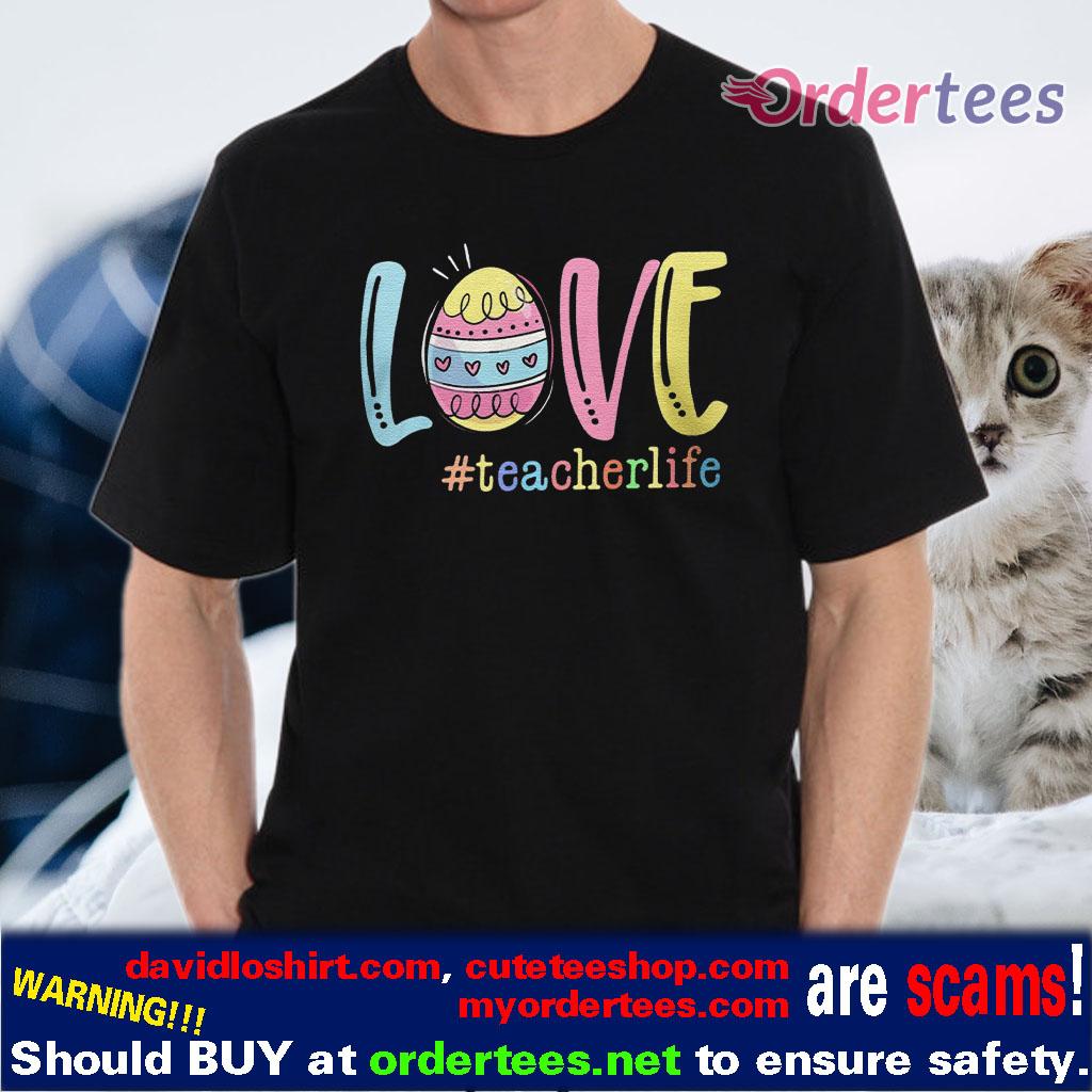 Teacher Life Easter Day Bunny Gift Shirt Classic T Shirt Hoodie